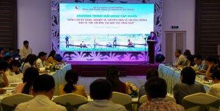 Tập huấn kỹ năng truyền thông bảo vệ môi trường