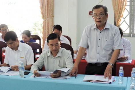 Khảo sát tổ chức cơ sở đảng sau đánh giá năm 2018