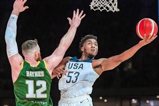Đội tuyển Mỹ đập tan mọi nghi ngờ với chiến thắng huy hoàng trước đội tuyển Úc