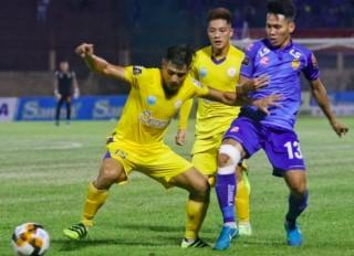 Vòng 22 V-League 2019:  Đánh bại Sanna Khánh Hoà, Quảng Nam tạm thời lọt vào top 4
