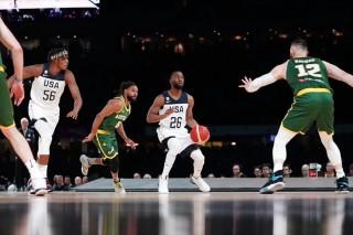 Đội tuyển bóng rổ Mỹ kéo giành chiến thắng các trận giao hữu
