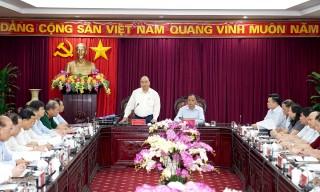Thủ tướng Nguyễn Xuân Phúc làm việc với lãnh đạo tỉnh Bắc Kạn và Thái Nguyên