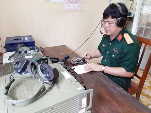 """Thiếu tá Nguyễn Văn Danh đạt """"Kiện tướng báo vụ"""" toàn quân"""