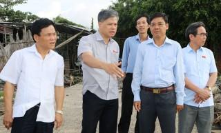 Ủy ban Đối ngoại Quốc hội khảo sát thực tế tại huyện Thạnh Phú