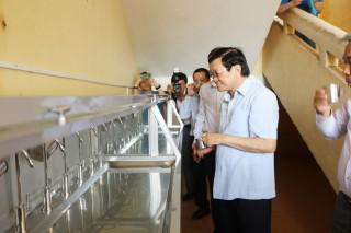 75 trường học huyện Ba Tri nhận hệ thống lọc nước