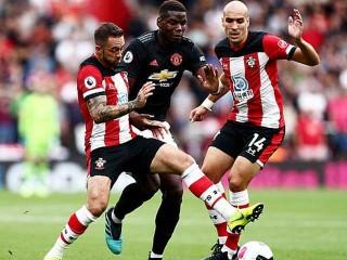 Vòng 4 Ngoại hạng Anh:  MU để Southampton cầm hòa 1-1