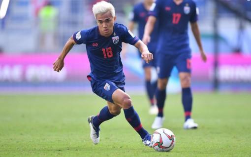 Thái Lan chốt danh sách 23 cầu thủ gặp Việt Nam