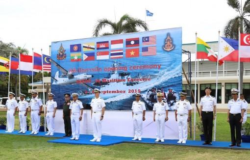 Việt Nam tham gia tập trận hàng hải ASEAN - Mỹ tại Thái Lan