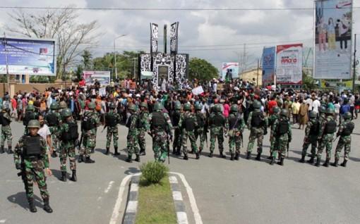 Indonesia huy động 6.000 nhân viên an ninh đối phó bạo loạn ở Papua