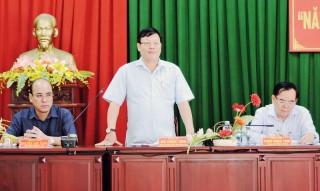 """Ban Dân vận Trung ương kiểm tra thực hiện """"Năm dân vận chính quyền"""" tại Ba Tri"""