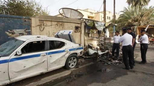 Hàng loạt vụ đánh bom đẫm máu xảy ra ở Iraq