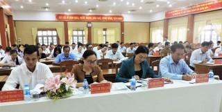 Châu Thành khẩn trương công tác chuẩn bị đại hội Đảng các cấp