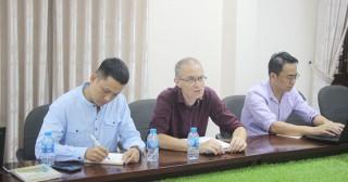 Phó chủ tịch UBND tỉnh Nguyễn Hữu Lập tiếp đoàn giám sát IFAD