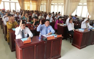 HĐND huyện Ba Tri thông qua nghị quyết sáp nhập xã Phước Tuy và Phú Ngãi