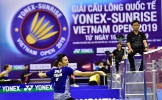Giải cầu lông quốc tế Yonex - Sunrise Vietnam Open 2019: Nguyễn Tiến Minh vào tứ kết