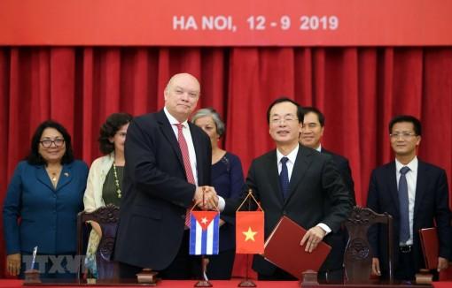 Bế mạc Kỳ họp thứ 37 Ủy ban liên Chính phủ Việt Nam-Cuba