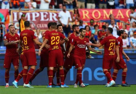 Serie vòng 3: AS Roma giành thắng lợi đầu tiên
