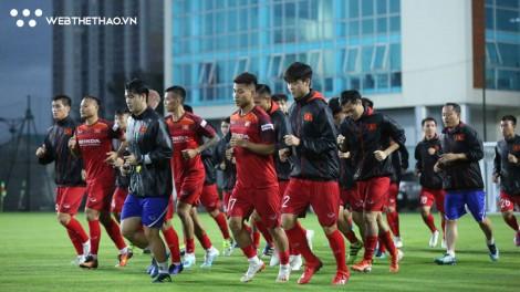 Lịch tập trung đội tuyển Việt Nam đá với Malaysia