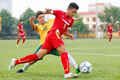 U16 Úc vất vả đánh bại U16 Mông Cổ 2-1