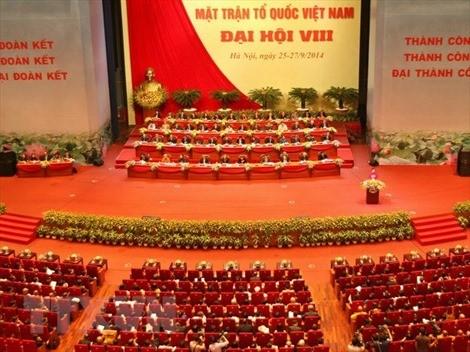 Đại hội đại biểu toàn quốc Mặt trận Tổ quốc Việt Nam diễn ra từ ngày 18 đến 20-9-2019