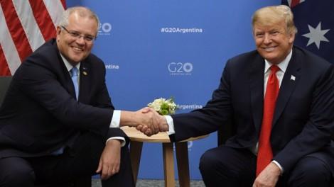 Thủ tướng Australia thăm Mỹ củng cố quan hệ đồng minh