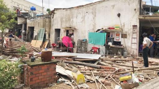 Cưỡng chế thi hành án tại xã Lộc Thuận