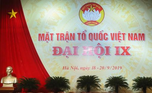 Khai mạc Đại hội Mặt trận Tổ quốc Việt Nam lần thứ IX