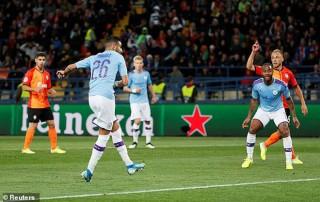 Cúp C1: Man City đánh bại Shakhtar Donetsk 3-0