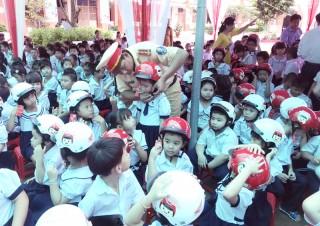 Gần 10 ngàn học sinh, sinh viên được tuyên truyền pháp luật về giao thông