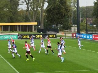 Văn Hậu được ra sân chính thức ở đội trẻ Heerenveen
