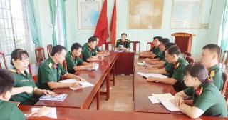Ban chỉ huy Quân sự huyện Châu Thành:  Đẩy mạnh học tập và làm theo Bác