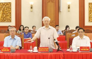 Nguyên lãnh đạo Đảng, Nhà nước góp ý vào dự thảo Báo cáo chính trị