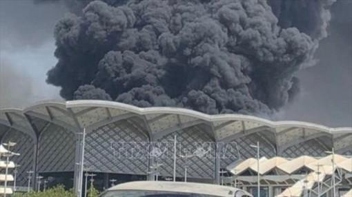 Hỏa hoạn nghiêm trọng tại ga tàu cao tốc Haramain, Saudi Arabia