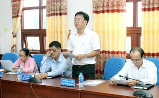 Đoàn đại biểu Quốc hội tỉnh lấy ý kiến đóng góp xây dựng dự thảo luật
