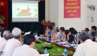 Hội đồng nghệ thuật tỉnh góp ý phát thảo các công trình bia lịch sử