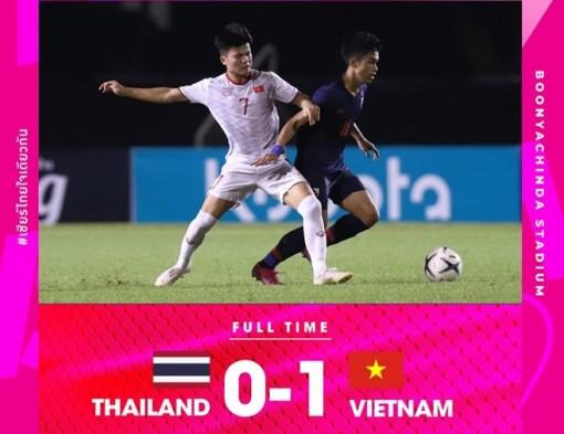 U19 Việt Nam hạ U19 Thái Lan