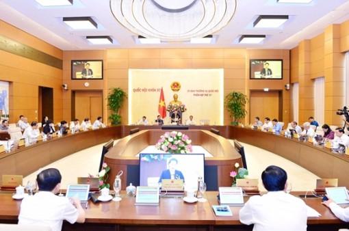 Ủy ban Thường vụ Quốc hội xem xét công tác nhân sự