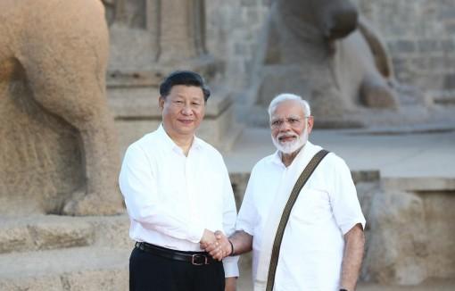 Lãnh đạo Ấn Độ - Trung Quốc thảo luận 150 phút tại hội nghị thượng đỉnh