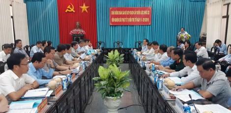 Đoàn cán bộ quy hoạch cấp chiến lược khóa XIII đến nghiên cứu thực tế tại tỉnh