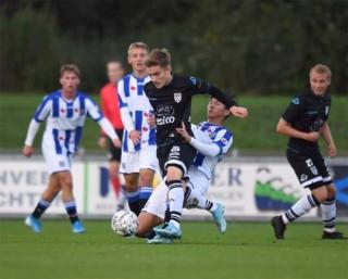 Văn Hậu là cầu thủ vất vả nhất của CLB Heerenveen