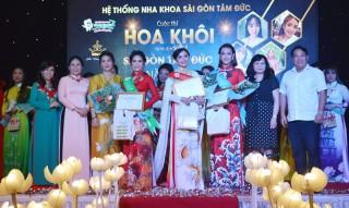 Võ Thị Hồng Diệp đoạt Hoa khôi Nha khoa Sài Gòn Tâm Đức