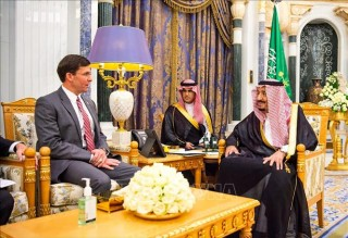 Lãnh đạo Lầu Năm Góc gặp Quốc vương Saudi Arabia