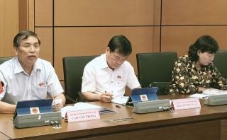 Đại biểu Quốc hội tỉnh góp ý kế hoạch phát triển kinh tế - xã hội và ngân sách nhà nước