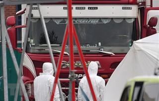 Anh: Chưa xác nhận việc có người Việt Nam trong xe container