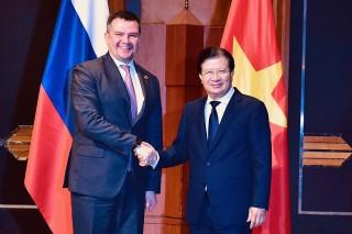 Việt Nam, Nga luôn ủng hộ doanh nghiệp hai nước hợp tác