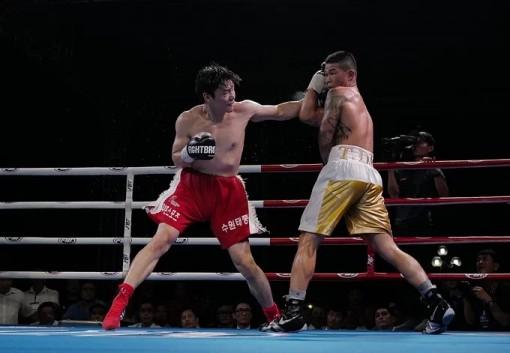 Trương Đình Hoàng thắng đối thủ Hàn Quốc Lee Gyu Huyn