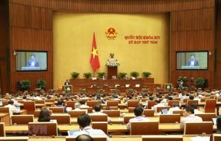 Quốc hội bắt đầu thảo luận về kinh tế - xã hội