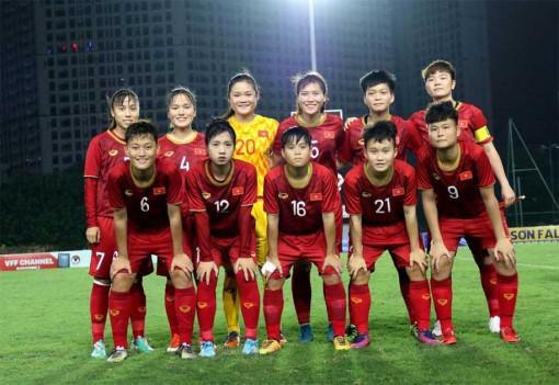 Bảng xếp hạng U19 nữ Việt Nam tại VCK U19 nữ châu Á 2019