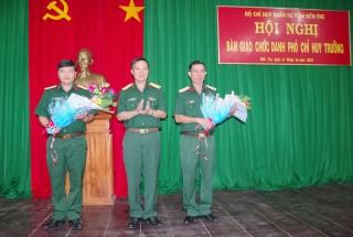 Bàn giao chức danh Phó chỉ huy trưởng Bộ Chỉ huy Quân sự tỉnh