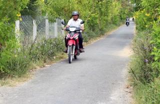 Ấp Long Hòa 1, xã Long Định: Chung tay xây dựng quê hương
